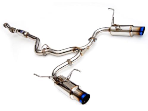 Invidia N1 Catback Exhaust Subaru WRX/STI 4-DR (08-14)