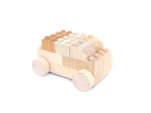 """Peças de madeira """"BU-BU"""" CAR"""