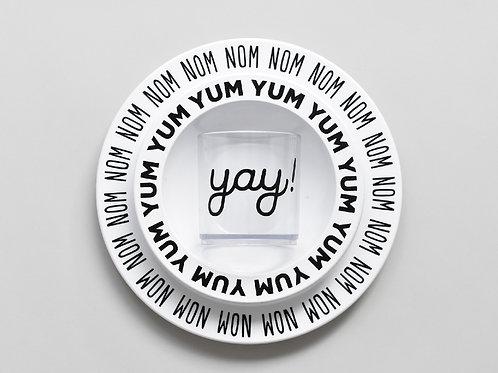 Conjunto de refeição | Letras
