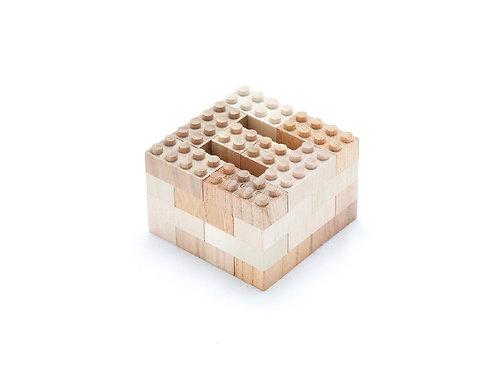 34 Peças de madeira