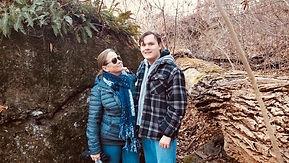 Mom and Ben Devils Rock Jan20.JPG