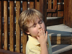 Early Learner StepUp2Start #Autismmadeeasier Annies Playground - Ben blowing kisses