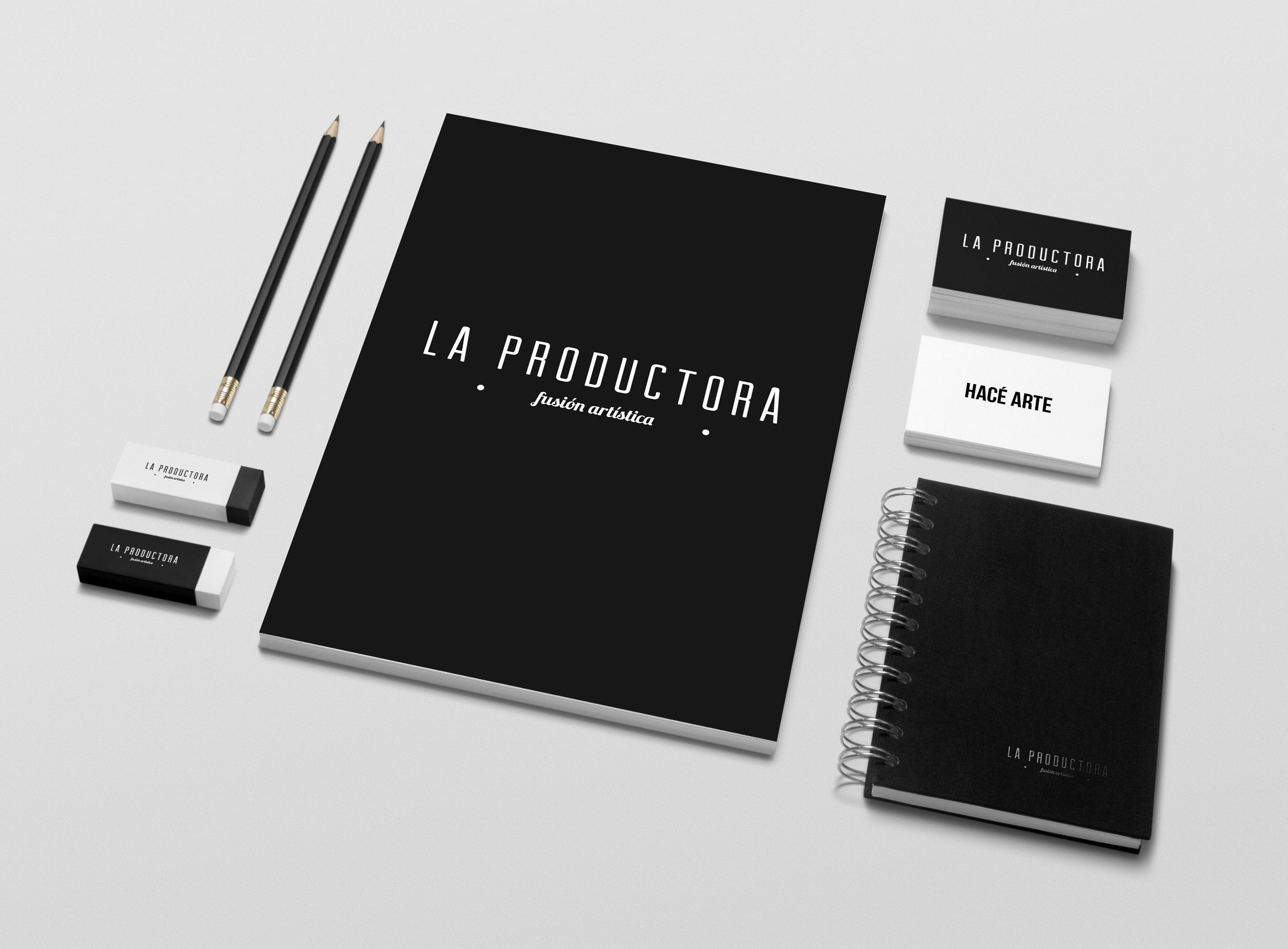 La Productora Identidad de marca