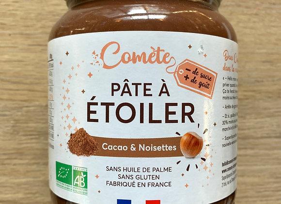 Pâte à étoiler Comète Cacao Noisettes - 700gr