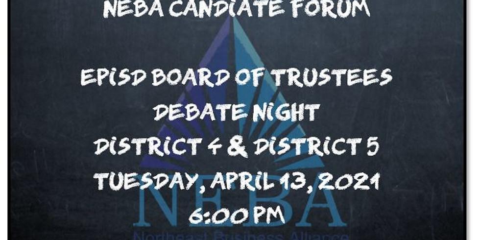 EPISD Trustee Candidate Forum