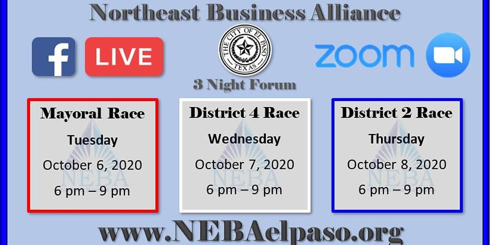 District 4 Rep Debate Night