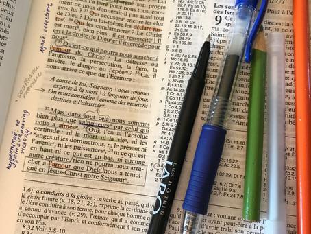 Méthode de lecture et d'étude simple d'un passage biblique