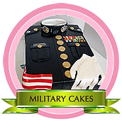 Military Themed Cakes