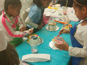 Kids' and Adult Cake Decorating Parties at our place
