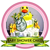 Baby Shower cakes, gender reveal cakes,