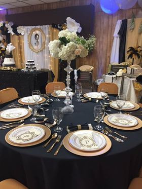 Table setting by Nadia de la cruz