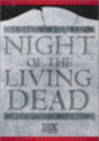 NIGHT OF THE LIVING DEAD Millenium Edition DVD