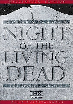 ORIGINAL ARTWORK FOR NIGHT OF THE LIVING DEAD -- 11X17 -- AUTOGRAPHED BY JOHN RUSSO