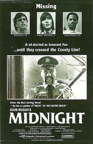 ORIGINAL ARTWORK FOR JOHN RUSSO'S MIDNIGHT -- 11X17 -- AUTOGRAPHED BY JOHN RUSSO