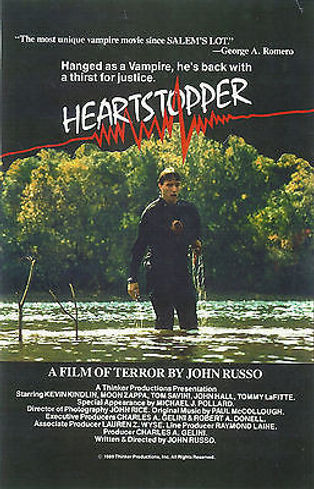 """ORIGINAL ARTWORK FOR JOHN RUSSO'S """"HEARTSTOPPER"""" -- 11X17 -- AUTOGRAPHED BY JOHN RUSSO"""