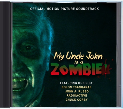 My Uncle John is a Zombie Official Music Soundtrack (CD)