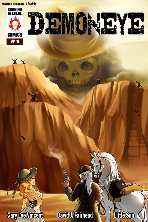 Demoneye #1 by Gary Lee Vincent, David J. Fairhead, Little Sun (paperback)