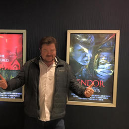 Gary at the ENDOR Premiere