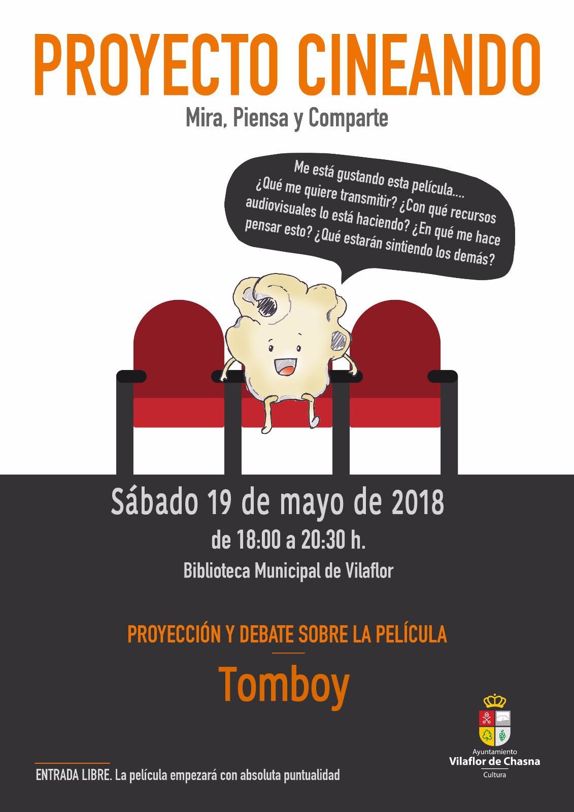 Actividad Vilaflor: Cineando