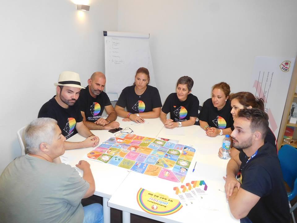 Reunión con FELGTB Orgullo 2017