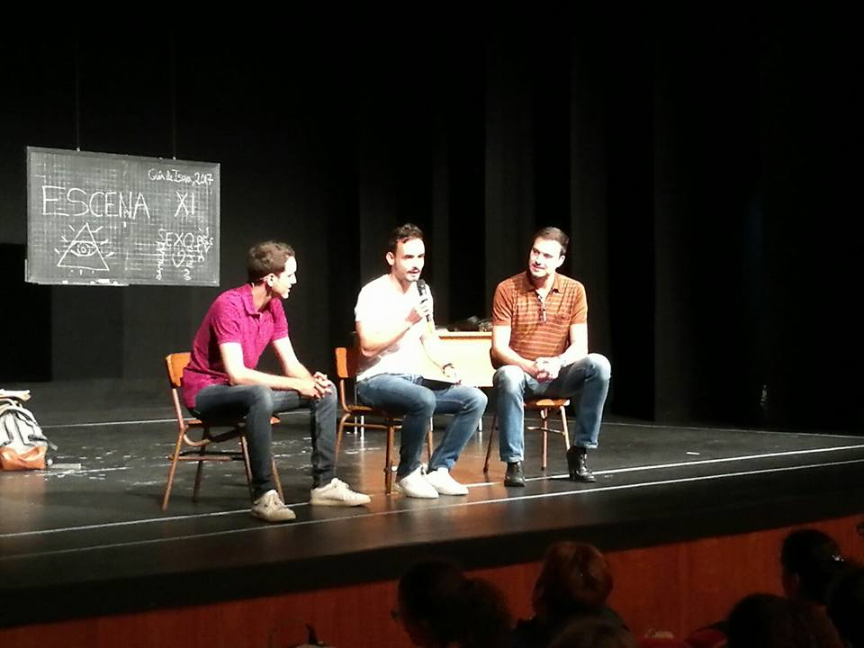 Dinamización debate obra teatro
