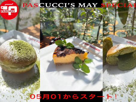 Pascucci's May Special