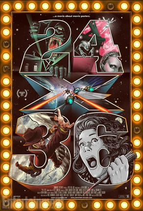 24x36: A Movie About Movie Posters (2016)