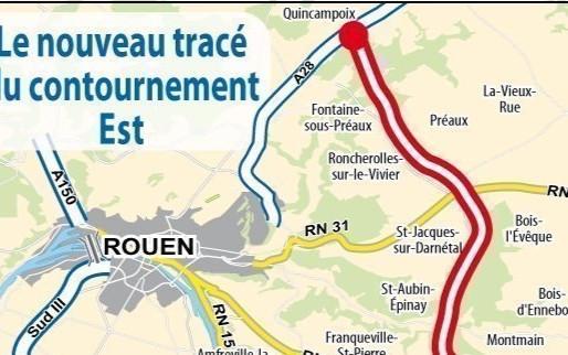 Contournement Est/Vote de la Métropole Rouen-Normandie
