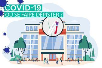 Dépistage du Covid-19 à Rouen et dans la 4e circo