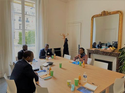 Visite du ministre de la communication et des médias de Côte d'Ivoire