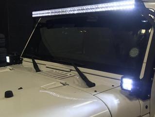 Прямая или изогнутая светодиодная балка.Что выбрать?