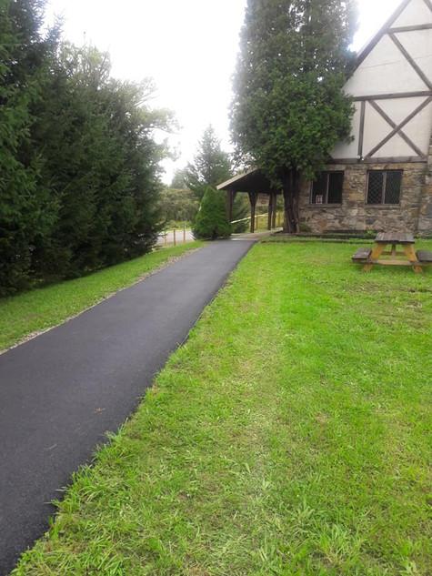 walkway to the Lodge