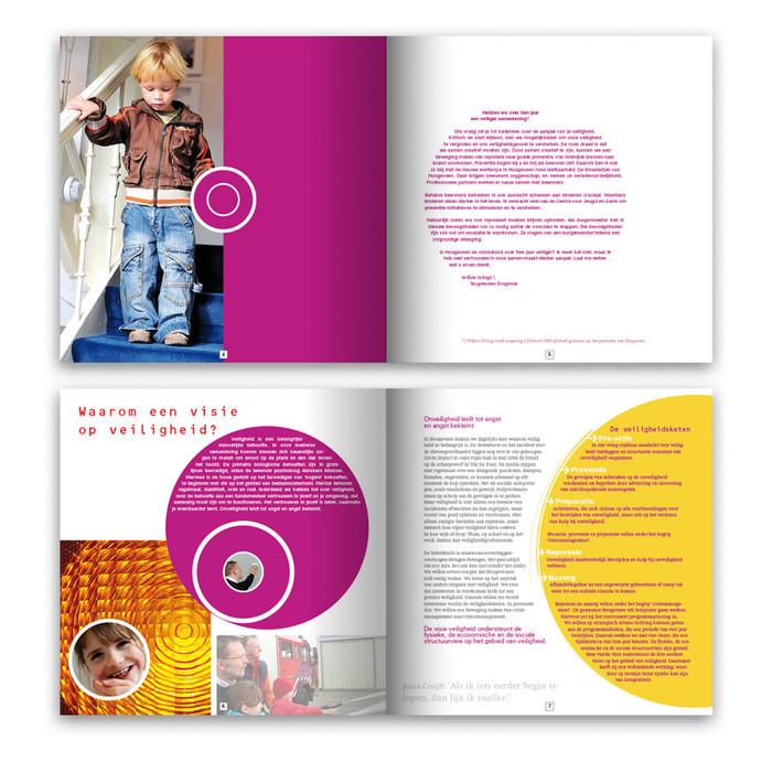 spreads van jaarverslag gemeente Hoogeveen | | ontwerp en fotografie | drukwerk