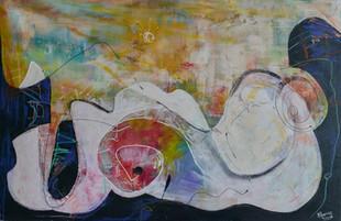 Wulps | schilderij in acrylverf | 75 x 115 cm