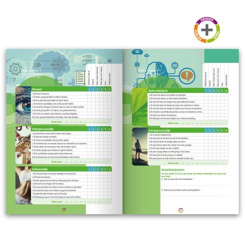 spread uit leermethode 'Leren & Leven'| ontwerp en fotografie | drukwerk