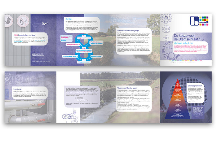 Vierluikfolder voor RUD | teksten, ontwerp | film & fotografie | drukwerk