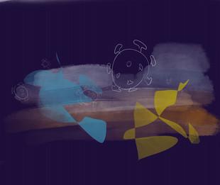 strange things | digitaal kunstwerk