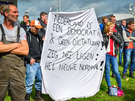 Fotografie 'Steun aan de boeren...'