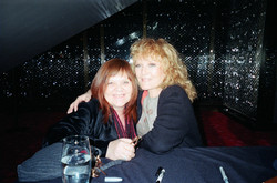 Mary Barry & Petula Clark at the Place des Arts in Montreal