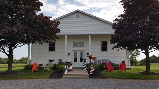 Front view of store
