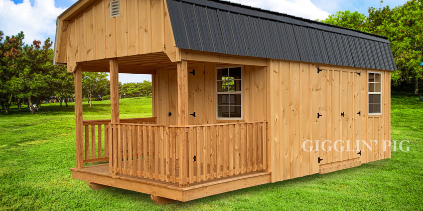 Kiln-Dried Cabin w/ Opt. Porch