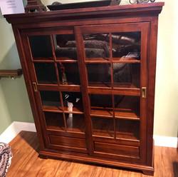 Abbie Medium Sliding Door Bookcase