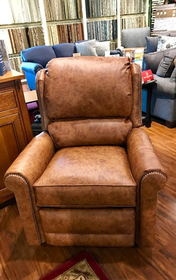 Recliner-leather