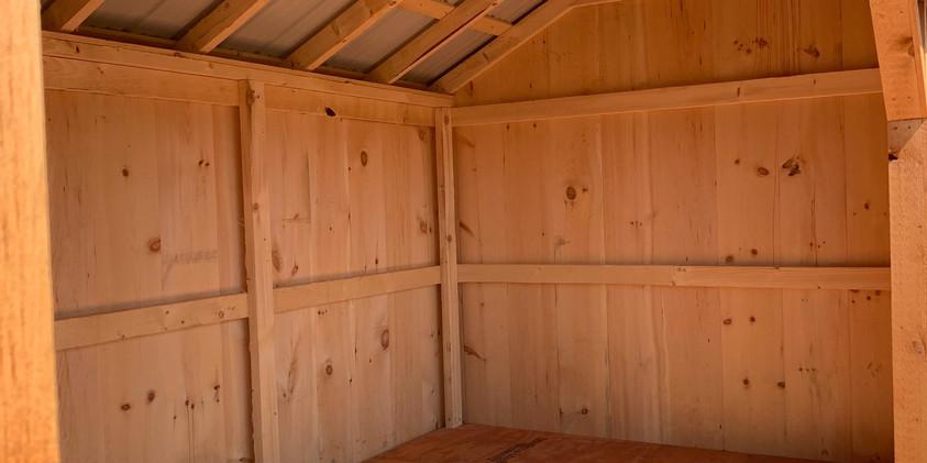 Wood Bin Interior
