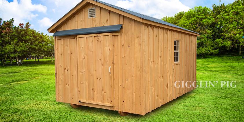 A-Frame w/ Opt. Sliding Barn Door