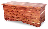 Amish handcrafted Cedar Hope Chest