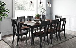 Sq. One Leg Table Set