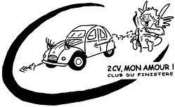 2cv Mon Amour, Club Du Finistère ! 2cv Club Mon Amour, Quimper