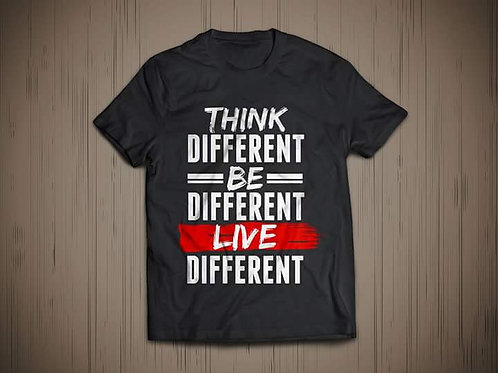 Think Different Unisex Graphic Tee
