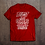 Thumbnail: Beast Mode Unisex Graphic Tee (Red)